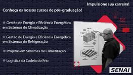Conheça os cursos de  pós-graduação para as áreas de Refrigeração e Climatização!!!
